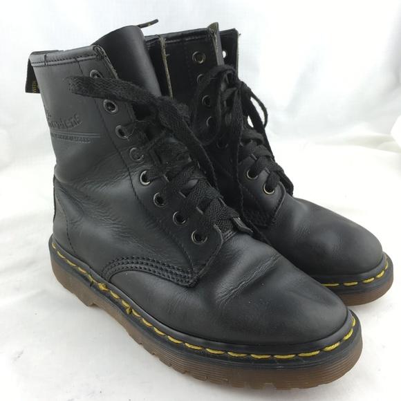 ee618fa77 Dr. Martens Shoes | Combat Boots Black Leather 1460 Vintage England ...